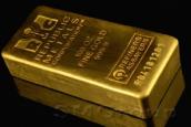 Унция золота на бирже потеряла за пять недель 20 долларов