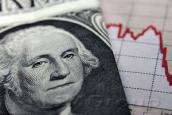 Рубль упал к доллару, но укрепился к евро